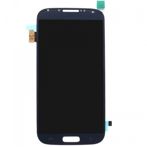 Дисплей с тачскрином Samsung Galaxy S4 mini GT-i9190 без рамки синий оригинал